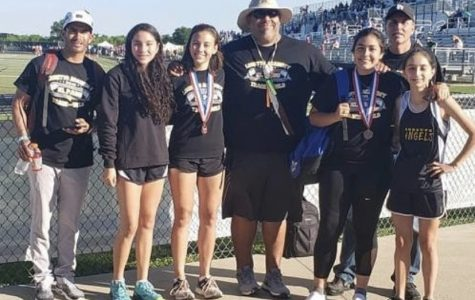 Varsity Loretto track/field at regionals and districts