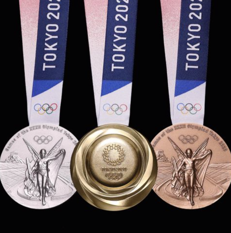 Tokyo%E2%80%99s+2020+Olympics+medal+designs.+Photo+courtesy+of+Google+Images.%0A