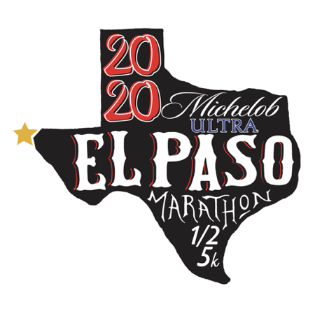 The El Paso Marathon's official logo. Photo courtesy of Google Images.