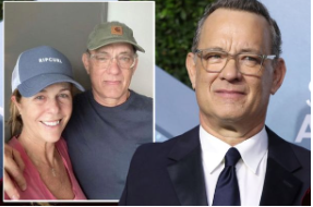Actor Tom Hanks and his wife Rita Olson were among the first celebrities to be diagnosed with COVID-19. Photo courtesy of newsoneplace.com.