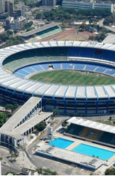The 78,000 seater stadium Maracana has been turned into a hospital. One of the most iconic stadiums. Photo courtesy of Google Images.