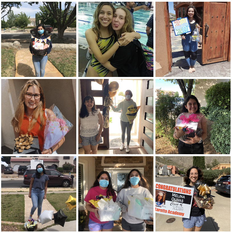 This+year%27s+Ring+Rose+came+in+the+form+of+gift-giving.+Seniors+and+juniors+practiced+social+distancing+along+the+way.+Photos+courtesy+of+Lauren+Barajas%2C+Mia+Hernandez%2C+Melani+Saldana%2C+Anamarie+Cordova%2C+Celeste+Hirschi%2C+Diana%2C+and+Iliana+Moreno.