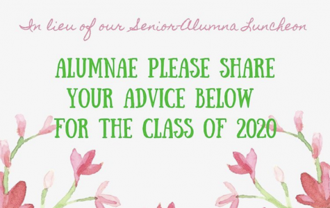 Loretto Alumni left advice for the graduating class of 2020. This advice came as a substitution for the Senior-Alumna Luncheon hosted by Loretto annually. Photo courtesy of Loretto Academy Instagram.