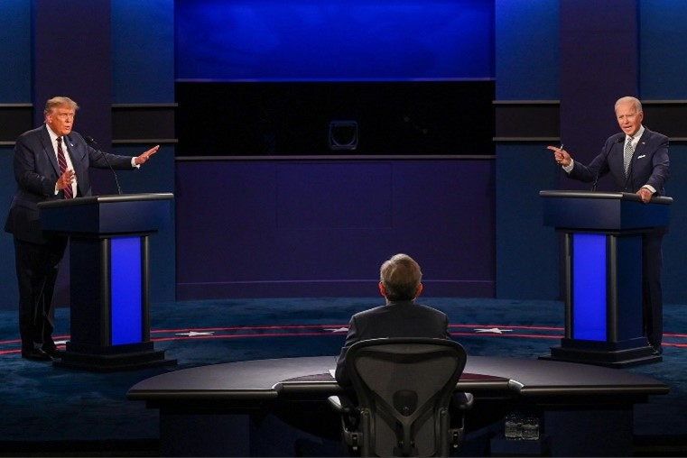 As Biden and Trump argue over the nation, a new standard of debating was set. The nation embraced overlapping arguments and the inability to hear either candidate's plans.