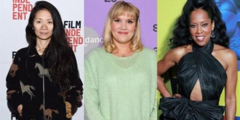 Emerald Fennell(middle), Chloe Zhao(left), and Ava DuVernay(right), first female directors recognized in 2021. These women made history with the nominations that they won at the Globes. Photo Courtesy by Getty Images